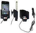 Apple IPhone 4S - Brodit Active Car Cradle Holder With Cig-Plug (# 521164)
