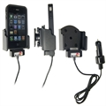 Apple IPhone 4S - Brodit Active Car Cradle Holder With Cig-Plug (# 521165)